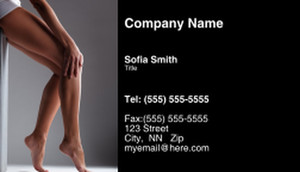 Waxing - Laser & Hair Removal Business Cards Template: 335241