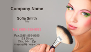 Cosmetics Business Cards Template: 332485