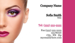 Cosmetics Business Cards Template: 332501