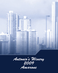 All City Panorama Labels Template: 347518