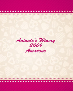 Button to customize design Top Picks Labels Template: 347553