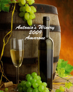 Button to customize design Wine - Vinyards Labels Template: 332530