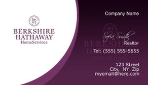 Berkshire Hathaway Business Cards Template: 526513