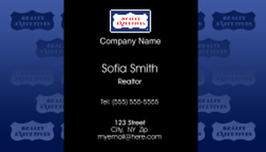 Realty Executive Business Cards Template: 504001