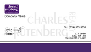 Charles Rutenberg Business Cards Template: 500773