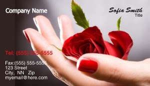 Example of a well-branded business card