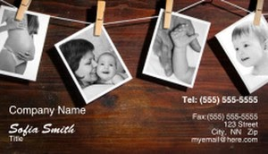 Multi-Photo Business Cards