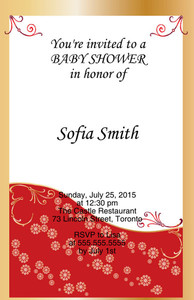 Button to customize design Elegant Greeting Cards Invitation Template: 344540