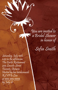 Floral Greeting Cards Invitation Template: 332078