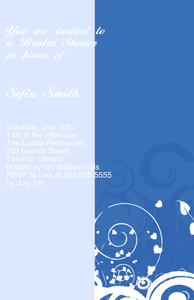 Button to customize design Lines-Curves Greeting Cards Invitation Template: 332209