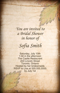 Vintage-Antique Greeting Cards Invitation Template: 332360