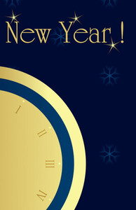 New Year Greeting Cards Invitation Template: 326076