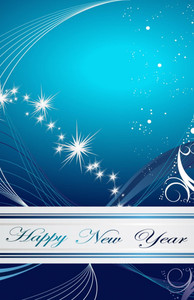 New Year Greeting Cards Invitation Template: 326082