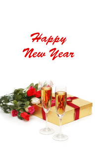 New Year Greeting Cards Invitation Template: 326088
