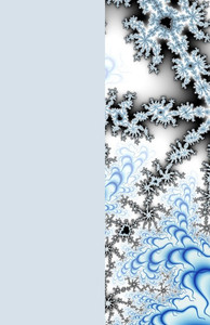 Snowflakes Greeting Cards Invitation Template: 326050