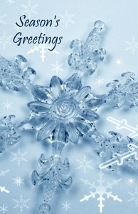 Snowflakes Greeting Cards Invitation Template: 326057