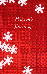 Snowflakes Greeting Cards Invitation Template: 326058