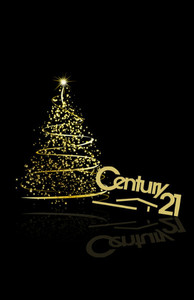 Button to customize design Century 21 Holiday Greeting Cards Invitation Template: 517173