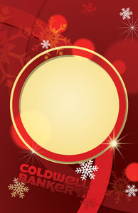 Button to customize design Coldwell Banker Holiday Greeting Cards Invitation Template: 519217