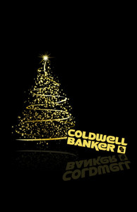 Button to customize design Coldwell Banker Holiday Greeting Cards Invitation Template: 517199