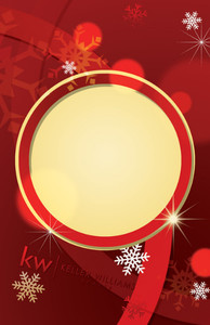 Button to customize design Keller Williams Holiday Greeting Cards Invitation Template: 519239