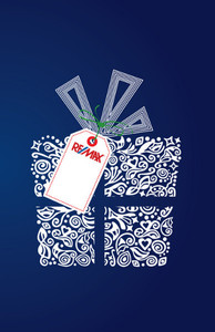Button to customize design Re/max Holiday Greeting Cards Invitation Template: 517137