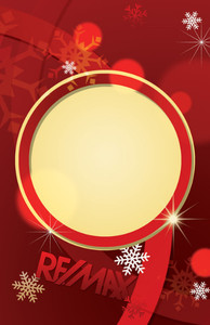 Button to customize design Re/max Holiday Greeting Cards Invitation Template: 519283