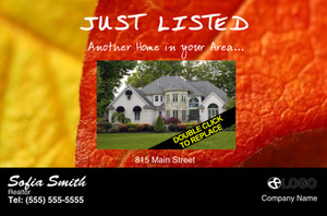 Just Sold Listed Postcards Template 322240