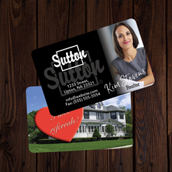 Sutton Business Cards Credit Card Size