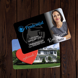 Prudential Business Cards Credit Card Size
