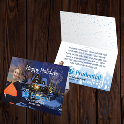 Prudential Greeting Cards Landscape