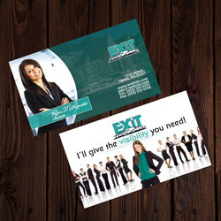 Exit Business cards