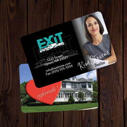 Exit Business Cards Credit Card Size