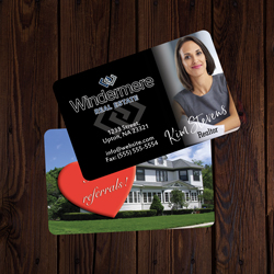 Windermere Business Cards Credit Card Size