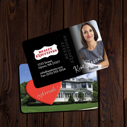 Realty Executive Business Cards Credit Card Size