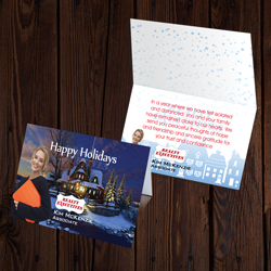 Realty Executive Greeting Cards Landscape