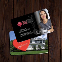 Home smart Business Cards Credit Card Size