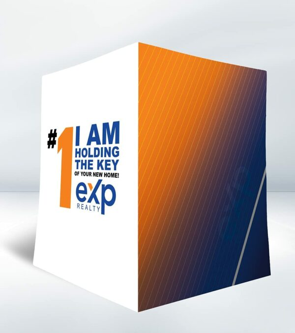 EXP Folder with Orange and Blue Colors